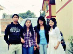 Young mexican people (Puebla).