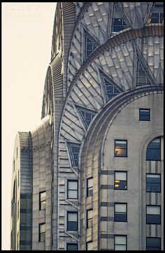 Chrysler Building, NYC, New Yorkby quine_63  Looking very much like an old radiator in this photo.