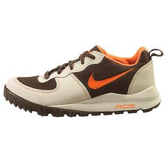 Nike Takos Low Mens 317542-282 Brown Orange Acg Trail Running Shoes Size 10