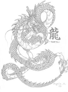 japanese dragon art - Google Search