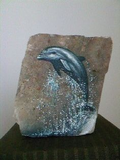 Arte en Piedra | Mar Mar...I love this painted rock!!
