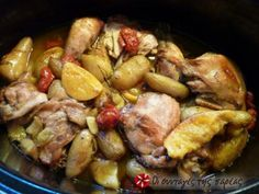 Greek Cooking, Mediterranean Recipes, Greek Recipes, Kung Pao Chicken, How To Cook Chicken, Food To Make, Good Food, Dinner Recipes, Pork