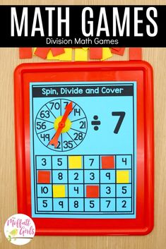 Multiplication and division fluency is such an important skill for grade students. In Unit 3 of the Grade Math Made Fun Curriculum, Division Math Games, Multiplication And Division, First Grade Math, Third Grade, Core Learning, Multiplication Problems, Math Facts, Addition And Subtraction, Writing Activities
