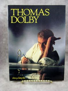 1983 Nm RaRe Thomas Dolby Songbook Sheet music BLINDED ME With SCIENCE & Others Songbook