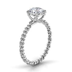Conflict-free engagement rings from @danhovjewelers