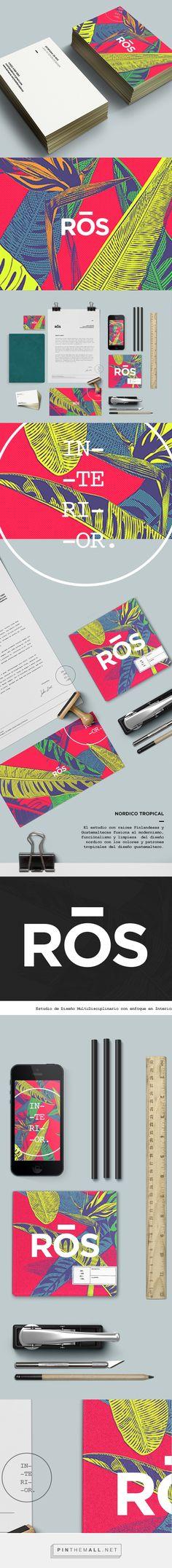Ros Interior Design Branding on Behance   Fivestar Branding – Design and Branding Agency & Inspiration Gallery