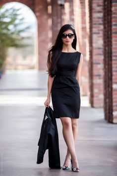 A Wear Anywhere Black Lace Dress