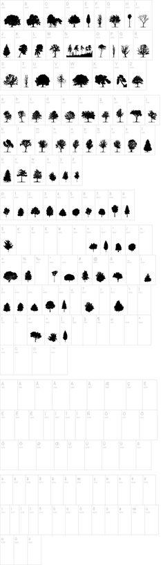 Trees TFB Font   dafont.com
