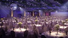 Visual Eyes Media | Queens Ballroom & Ice Rink, Bayswater #Banquet #Dining #CGI #Flare