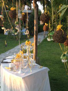 Wonderful reception at Ktima Kalipso!!