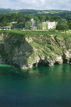Beautiful Sea View Angle of The Carlyon Bay Hotel. @Carlyon Bay Hotel www.carlyonbay.com