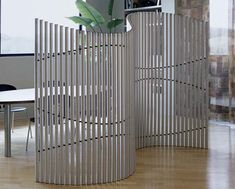 Combination privacy screen and musical instrument.  How cool is that?