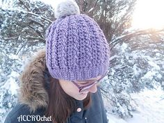Trinity cabled hat pattern (not free)