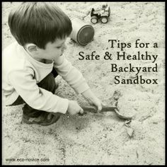 Eco-novice: The Non-toxic Eco-friendly Sandbox