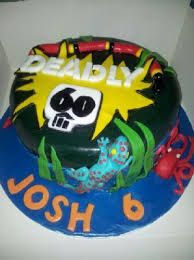 Image result for deadly 60 birthday cake