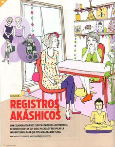 Revista Oh la la Ilustration by Robertita Superstar www.robertita.com.ar