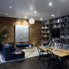 Inspire My Interior: The Block Glasshouse - Living and Dining rooms House Design, Living Dining Room, Interior Design, Glass House, Interior, Interior Furniture, Devine Design, The Block Glasshouse, Room
