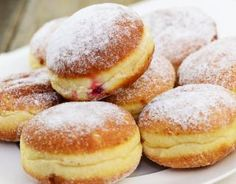 Beignets au four maison - Appetizer Recipes Donut Recipes, Dessert Recipes, Cake Recipes, Cooking Recipes, Desserts With Biscuits, Food Tags, Homemade Donuts, No Sugar Foods, Sweet Bread