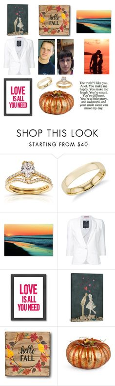 """""""Good Morning first day of fall/autumn"""" by joydschmidt1 on Polyvore featuring Annello, Blue Nile, Trademark Fine Art, Loveless, Americanflat, iCanvas and Improvements"""