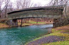 Virginia's oldest covered bridge