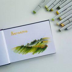 4/4 #lk_travel_sketch - путешествие по стране. У меня Карпаты. Выбрала осенние, потому что больше всего люблю природу осенью.  #скетч #скетчбук #маркеры #lk_travel_sketch_лотерея #sketch #sketchmarker #sketchmarkersclub #copic #copicart #illustration #art #instaart #topcreator #art_we_inspire #drawing #sketchbook #ukraine #carpathians #карпати #карпаты #україна #sketchingukraine #скетчукраїна