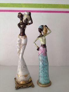 figurines ladies african - Google Search
