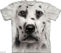 Big face Dalmation Dog Face T-Shirts Big Dog T Shirts, 3d T Shirts, Dog Shirt, Zebras, Big Dogs, Dogs And Puppies, Big Face, Dog Cat, Graphic Tees