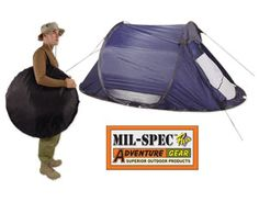 Instant Set-Up 2 man Tent – Barre Army/Navy Store Online Store