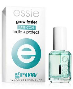 essie nail care, grow faster - Nails - Beauty - Macy's