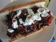 Beef Brisket With Goat Cheese