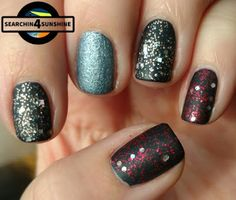 Searchin 4 Sunshine: [Nails] Specialties mit essence 09 the night of magic & ganz viel Glitzer