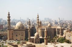 Sprawling Islamic Cairo