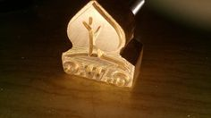 Custom Logo Branding heating Iron stamp made from Aluminum or