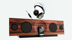 DJ-style TTR, to a wooden, quad-speaker, 100watt iGear dock w/ AirPlay allows you to wirelessly stream from any room #DIYQUEENBLOG #diy #diyqueen #tech