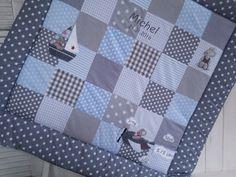 Krabbeldecken - Krabbeldecke in Wunschfarbe - ein Designerstück von mein-Fridolini bei DaWanda