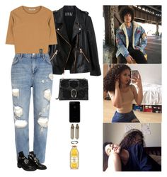 """""""I'm in love again..."""" by anaalsan on Polyvore featuring Rosegold, Kipling, River Island, Gucci, Balenciaga and PP"""