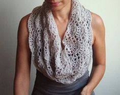Infinity Crochet Scarf Patterns | AllFreeCrochet.com