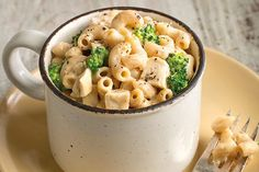 FIXATE macaroni and cheese with chicken and broccoli Macaroni And Cheese With Broccoli Recipe, Broccoli Recipes, Broccoli Chicken, Spinach Pasta, Chicken Sausage, Fixate Recipes, Cooking Recipes, Healthy Recipes, 21dayfix Recipes