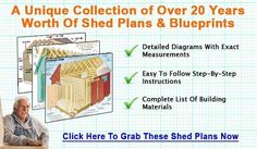 http://shedconstructionplans.com/  We have many wooden shed crafting blueprints along with complete steps for building your backyard shed. These DIY shed schematics list detailed rafter templates and framing diagrams along with roof, wall and floor designs.