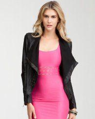 bebe jacket $98.00