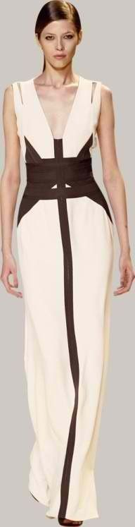 White and Black Structured
