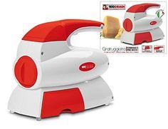 Rallador eléctrica para cortar pan queso, fruta, seca y cintas para anudar alrededor MADE IN ITALY Grattugiotta F129 Fiseldem #rallador #alimentos Para ver mas visita este enlace https://cadaviernes.com/ofertas-de-rallador-de-pan/