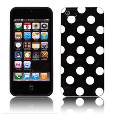 Lovely Dot TPU Soft Silicon Back Case Cover for iPhone 5 - For those who love dot design, here's one protective case for your iPhone 5 that you can use to complete your collection. It's the fashion & quality case named Lovely Dot TPU Soft Silicon Back Case Cover for iPhone 5.