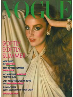 Blonde Beauty Icon Jerry Hall I don't think anyone could epitomize high fashion and disco glaMOUR better than supermodel Jerry Hall! Bianca Jagger, Mick Jagger, Jerry Hall, Seventies Fashion, 70s Fashion, Fashion Beauty, Vintage Fashion, Fashion Magazines, Fashion Models