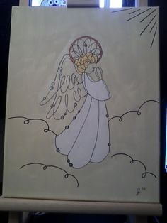A painting I did to donate to my church. :-)