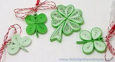 1 Martie din hârtie Quilling Patterns, Little Things, Jewelry Art, Origami, Projects To Try, Christmas Ornaments, 8 Martie, Holiday Decor