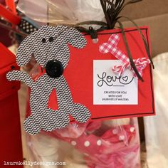 Cute puppy love gift