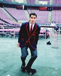 At a live Glee concert. God Darren. You make me SO happy.