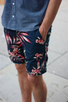 urbano-outfitters:  Who knew a pair of Old Navy shorts would get us a ton of new followers? Do us a favor then, and show some love by liking our Facebook Page too? Thanks! - Anthony  Dustin