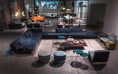 Baxter sofa online: best prices on sofas and armchairs Sofa Design, Furniture Design, Interior Design, Baxter Cinema, Baxter Furniture, Waiting Room Design, Lobby Interior, Lounge Sofa, Living Room Grey